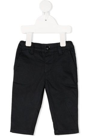 Emporio Armani Straight-leg cotton chinos