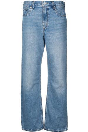 Levi's Mid-rise wide leg jeans