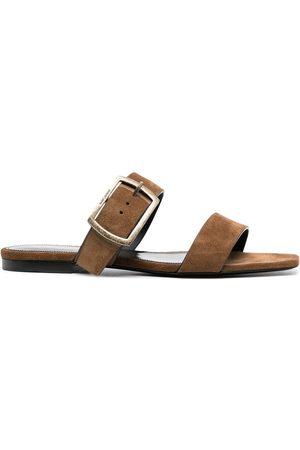 Saint Laurent Buckle strap sandals
