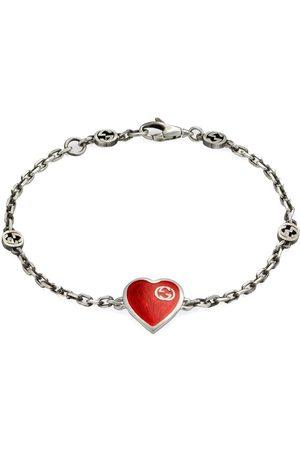 adidas Interlocking G heart bracelet