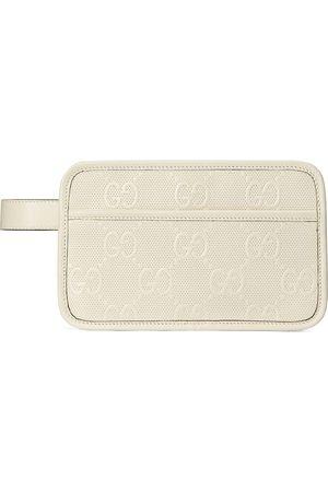 Gucci Monogram-embossed wash bag