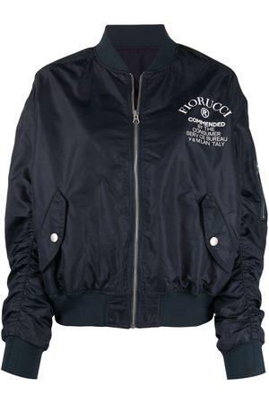 Fiorucci Logo-print bomber jacket