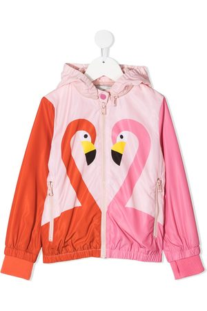 Stella McCartney Flamingo-print jacket