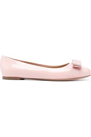 Salvatore Ferragamo Women Ballerinas - Vara bow ballerina shoes