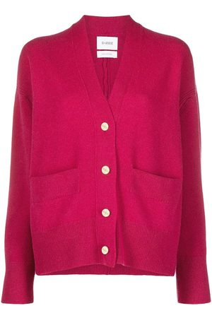 Barrie Rib-trimmed cashmere cardigan