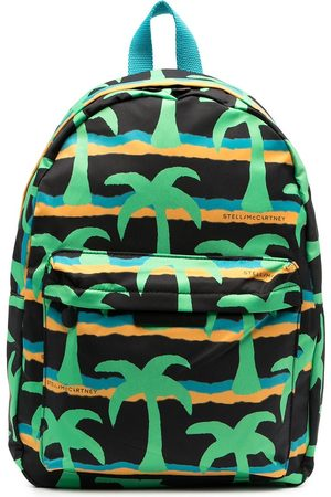 Stella McCartney Palm tree-print backpack