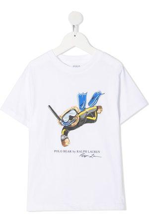Ralph Lauren Diver Polo Bear print T-shirt