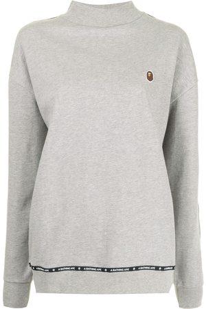 A Bathing Ape High-neck cotton sweatshirt - Grey