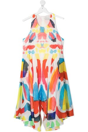 Stella McCartney TEEN graphic print dress