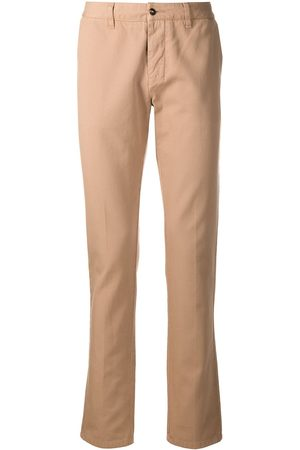 Ami Cotton-gabardine chinos - Neutrals
