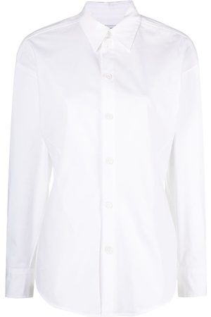Bottega Veneta Long-sleeve poplin shirt