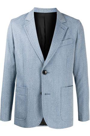 Ami Single-breasted wool blazer