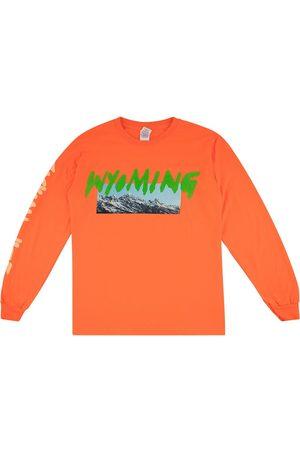Kanye West Men T-shirts - Wyoming print T-shirt