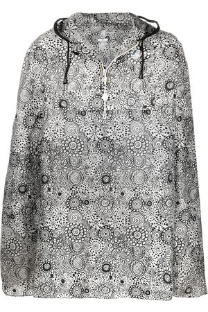 10 CORSO COMO X K-Way graphic-print hooded rain cape