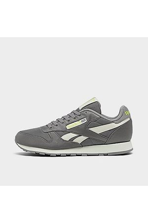 Reebok Men's Classic Leather Casual Shoes in Grey/Spacer Grey Size 7.5