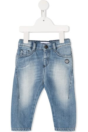 Emporio Armani Jeans - Faded tapered jeans
