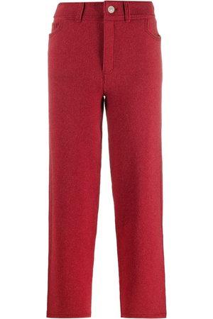 Barrie Knitted boyfriend-fit trousers