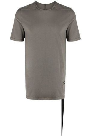 Rick Owens Logo patch short-sleeve T-shirt - Grey