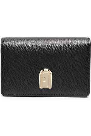 Furla Logo plaque card case
