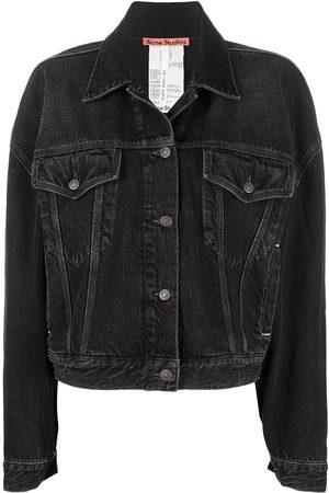 Acne Studios Women Denim Jackets - Oversized-cut jacket