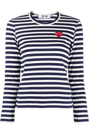 Comme des Garçons Striped print long-sleeve T-shirt