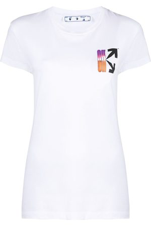 OFF-WHITE Women T-shirts - Gradient-style logo T-shirt