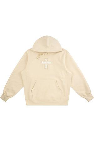 Supreme Cross box logo hoodie - Neutrals