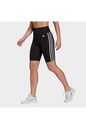 adidas Women's Training Aeroknit Cropped High-Rise Tights in /Dark Grey Heather Size X-Small Nylon/Polyester/Knit
