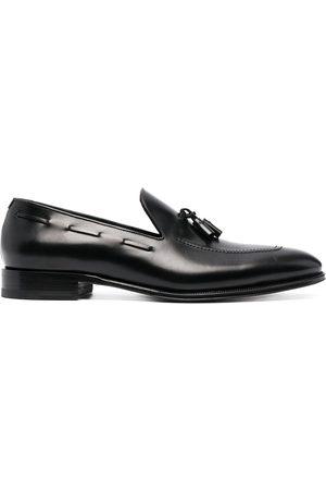 Dsquared2 Tassel-embellished leather loafers