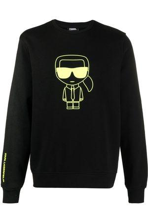 Karl Lagerfeld K/Ikonik crew-neck sweatshirt