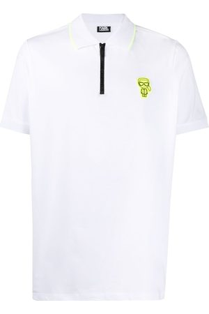 Karl Lagerfeld K/Ikonik stretch-cotton polo shirt