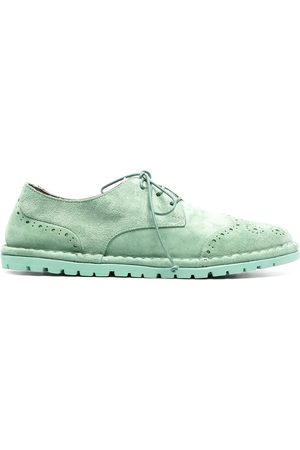 MARSÈLL Women Formal Shoes - Suede-effect lace-up brogues