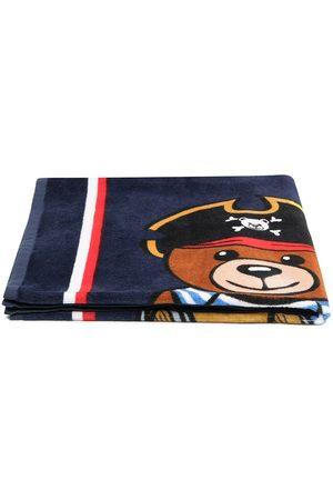 Moschino Boys Bathrobes - Pirate Teddy towel