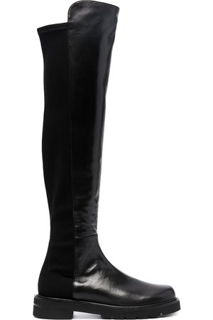 Stuart Weitzman Leather knee-length boots