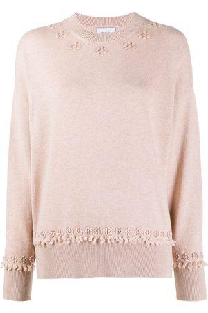 Barrie Women Sweaters - Round-neck cashmere jumper