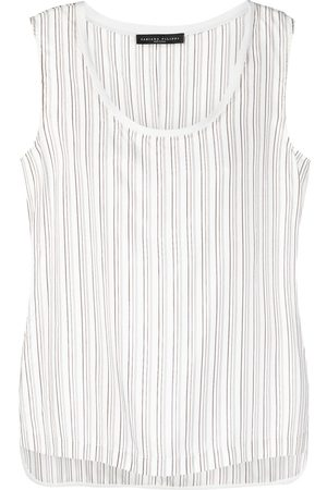 Fabiana Filippi Striped tank top - Neutrals
