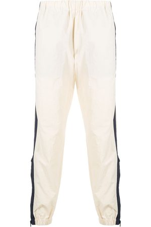 Kenzo Panelled detail track pants - Neutrals