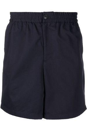 Ami Elasticated-waist Bermuda shorts