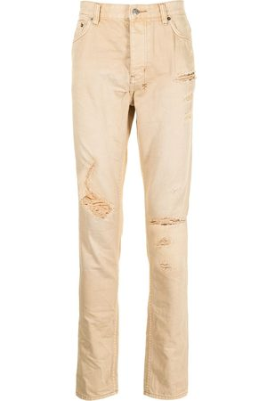 KSUBI Distressed slim-fit jeans