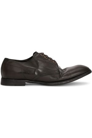 Dolce & Gabbana Dented style derby shoes