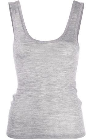 Nanushka Arti fine knit tank top - Grey