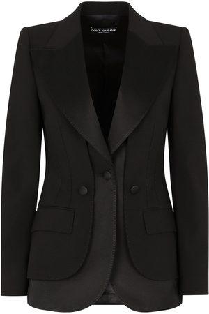 Dolce & Gabbana Satin-trim blazer