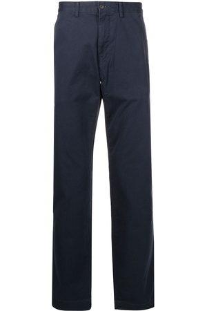 Polo Ralph Lauren Logo-patch straight-leg trousers