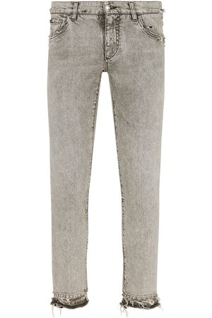 Dolce & Gabbana Low-rise skinny jeans - Grey