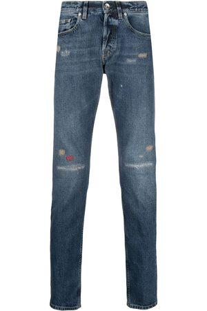 ELEVENTY Distressed skinny jeans
