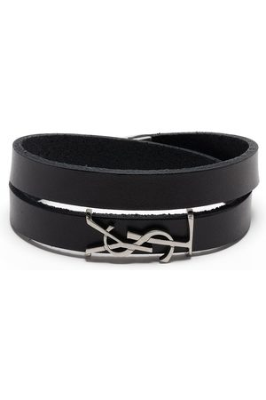 Saint Laurent Opyum double-wrap bracelet