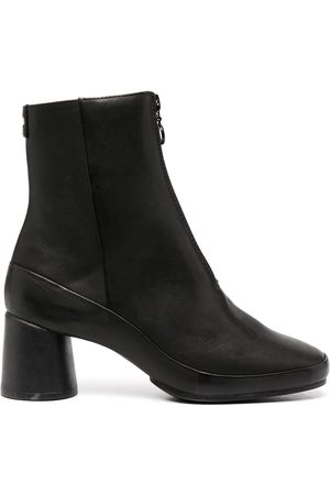 Camper Upright leather ankle boots