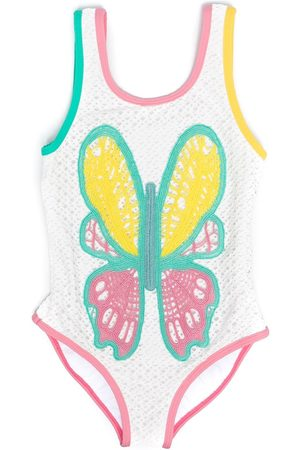 Stella McCartney Butterfly-print swimsuit