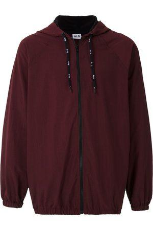 Àlg Contrasting-detail windbreak jacket - Neutrals