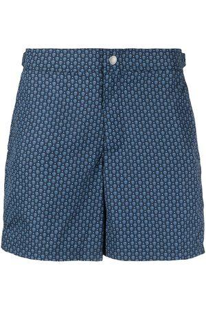 Alexander McQueen Micro Skull print swim shorts